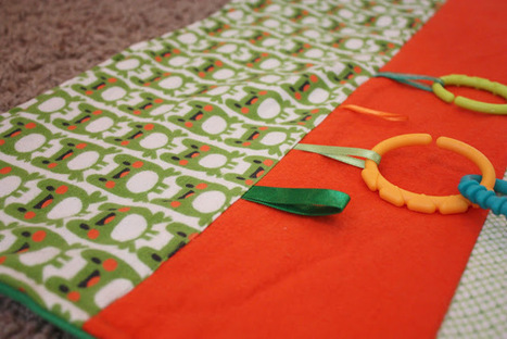 Fisher's Mommy: Frog Tummy Time Mat- Baby Shower Gift | Love My Baby | Scoop.it