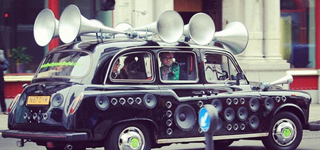Taxi creates music based on the environment it is travelling through | Sensory Marketing | Scoop.it