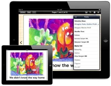 Book Creator | The simple way to create beautiful books on the iPad | GSHP eLearning | Scoop.it