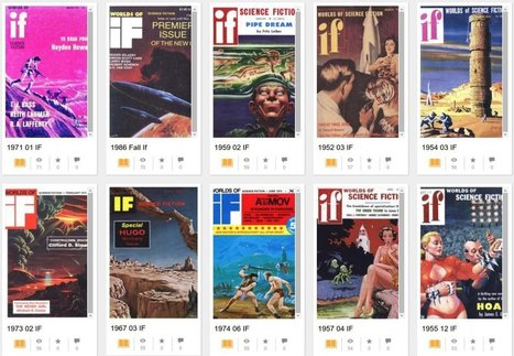 Read: The full run of If magazine, scanned at the Internet Archive | Ebooks & ELearning | Scoop.it