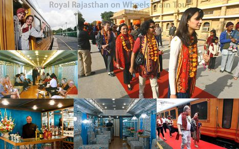 Royal Rajasthan on Wheels — A Majestic Ride Packed With Luxury | India luxury train | Scoop.it
