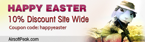 Easter Sale: 10% OFF Airsoft Store Wide | Airsoft Peak Store | Scoop.it