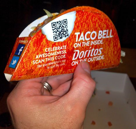 I'm Hungry For More: Doritos Locos Tacos, QR Codes and Fan ... | Using QR Codes | Scoop.it