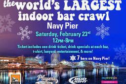 The World's Largest Indoor Bar Crawl at Navy Pier   Metromix Chicago   Chicago Events & Activities   Scoop.it