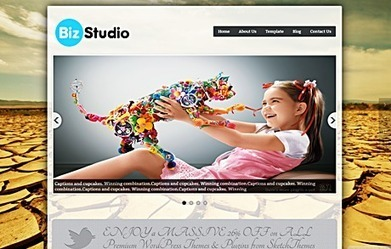 BizStudio Full Width Responsive WordPress Theme | Sketchthemes | Scoop.it