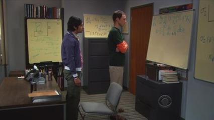 El departamento de Sheldon y Raj | The Big Bang Theory | Scoop.it