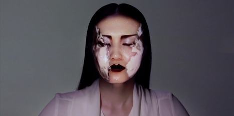 Watch 'Laser Makeup' Transform This Model's Face In Real-Time | Creativity, storytelling, transmedia | Scoop.it