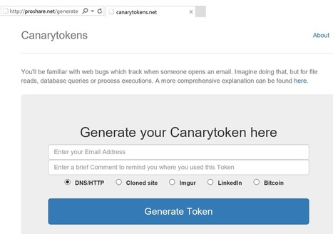 How You Can Set up Honeytokens Using Canarytokens to Detect Intrusions | ArtH@ck | Scoop.it