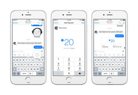 Facebook open to payments partnerships with Apple Pay, others | Le paiement de demain | Scoop.it