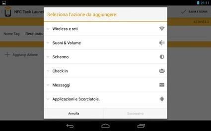 NFC Task Launcher, come programmare e leggere un tag NFC con il Nexus 7 | il TecnoSociale | Scoop.it