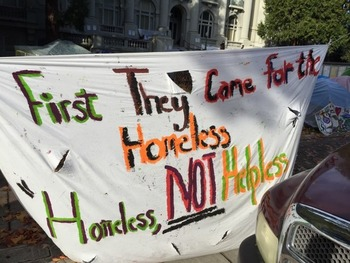 Berkeley orders new homeless tent city to disband | East Bay Real Estate News | Scoop.it