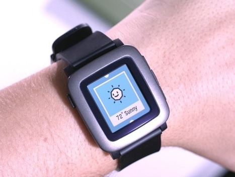 Pebble Time - Awesome Smartwatch, No Compromises | Things to come | Scoop.it