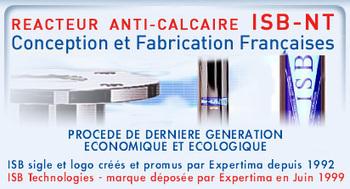 Traitement eau calcaire, solution anticalcaire ionique ISB NT - Expertima | Eau Calcaire | Scoop.it