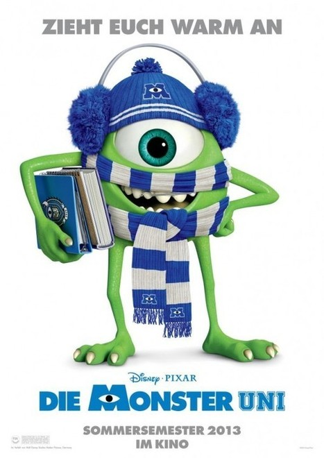 Monsters University Posters From Around The World | Animation News | Scoop.it