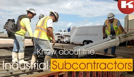 Know about the industrial subcontractors | Extraction industries in India | Scoop.it