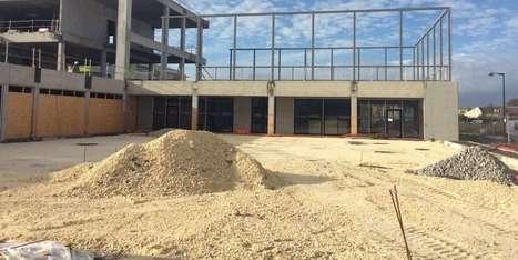 Le futur groupe scolaire sort de terre sur les quais | Projets urbains sur Bordeaux | Scoop.it