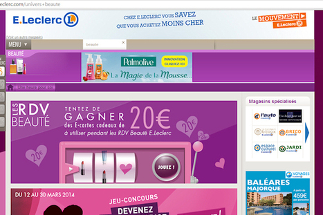 Leclerc tente le marketing digital à la place des prospectus | BeeZ, Happy Client Happy Business | Scoop.it
