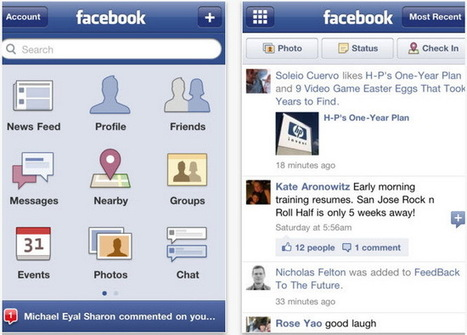 "Facebook App 3.5 For iPhone Updated – Now Available For Download | ""#Google+, +1, Facebook, Twitter, Scoop, Foursquare, Empire Avenue, Klout and more"" 