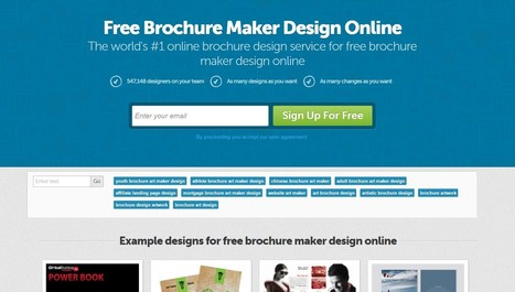 20+ Best Free Online Brochure Maker Tools | Pro Templates Lab | Scoop.it