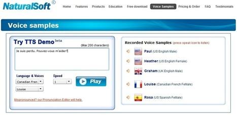 Un site pour pratiquer la prononciation en français | Portfolio d'enseignement du français comme langue seconde ou étrangère | phonétiquefle | Scoop.it