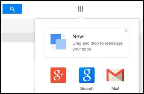 Podremos organizar los iconos de aplicaciones de Google desde el navegador | Social media y community manager | Scoop.it