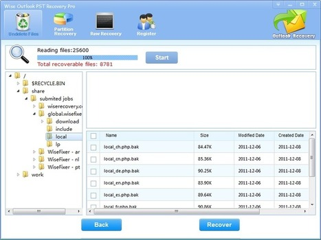 Professional Outlook PST Recovery Software - LionSea™ Software | Repair Outlook pst Files | Scoop.it