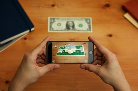 For a dollar bill, you can get a cool AR view of life in the White House | Enterprise Mobility | Scoop.it