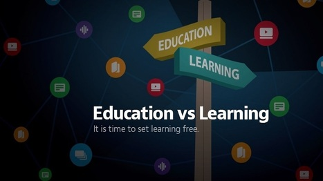 Education vs Learning - What Exactly is the Difference? - EdTechReview™ (ETR) | Professional development of Librarians | Scoop.it