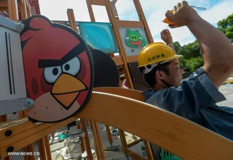 Angry Birds theme park under construction in E China - China.org.cn | Best Amusement Parks | Scoop.it