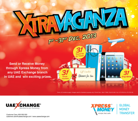 Xtravaganza 2013 is here! | UAE Exchange | Scoop.it