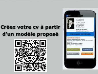Un CV QR Code pour enrichir une lettre de candidature | QR-Code and its applications | Scoop.it