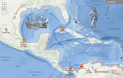 The Real Pirates of the Caribbean | ESRI.com | middle school | Scoop.it