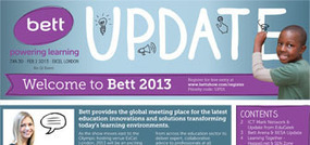 Bett 2013 - The world's leading event for learning technology | Solent NQT Education | Scoop.it