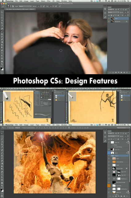 Photoshop CS6: Design Features - Kelbytraining | timms brand design | Scoop.it