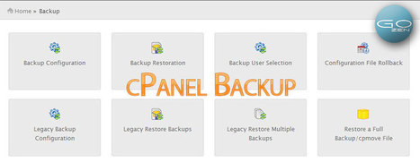 How to initiate cPanel backup from SSH | Web Hosting | Scoop.it