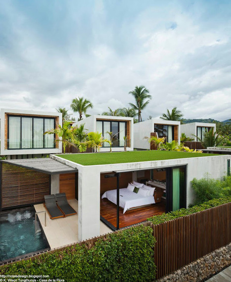 Les plus beaux HOTELS DESIGN du monde: CASA DE LA FLORA by VaSLab Architecture, T.R.O.P - Khao Lak - THAILANDE | HOTEL LE SENAT PARIS | Scoop.it