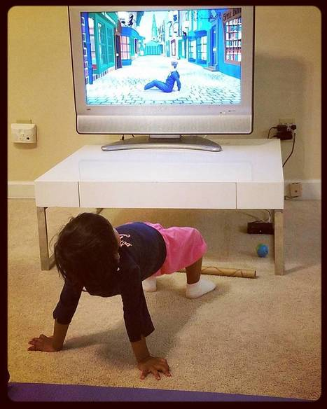 What a Strong Bridge Pose... | Cosmic Kids Around The World! | Scoop.it