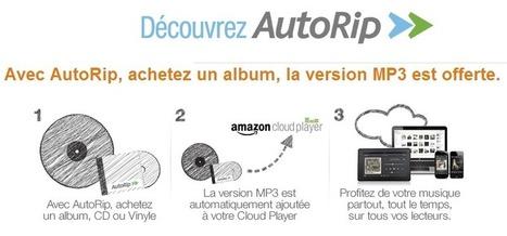 Amazon AutoRip : un MP3 avec les CD et vinyles achetés depuis 2000   Libertés Numériques   Scoop.it