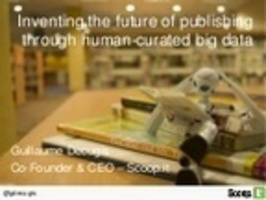 Inventing the future of publishing through human curated big data