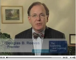 Share with school leaders: Douglas Reeves video « NeverEndingSearch | Advocating for School Libraries | Scoop.it