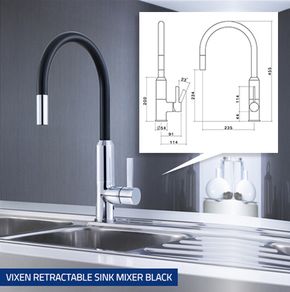 New Dorf Kitchen Mixer Taps Bring Choice And Style To The Kitchen   Bathroom Accessories   Scoop.it