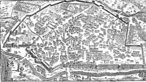 Della città di Ravenna e dei suoi porti: immagini dalle mappe e dai documentiantichi | mappe storiche | Scoop.it