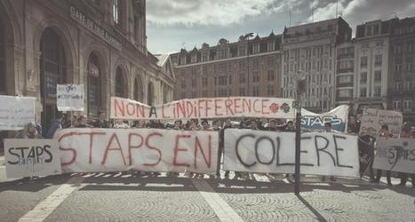 STAPS : les étudiants défendent leur filière - Educpros | veille_fage | Scoop.it