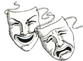 Break of Dawn Theater: The Story Behind the Comedy and Tragedy Masks | Theatre News & Resources | Scoop.it