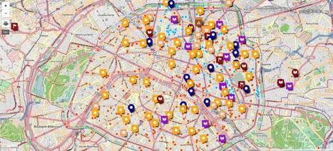 Welcome Map, une carte pour aider les réfugiés de Paris | Nouveaux paradigmes | Scoop.it