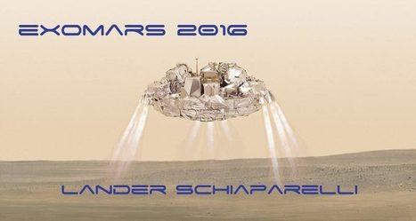 ExoMars: successo per TGO, Schiaparelli non pervenuto. Le news | SCIENTIFICAMENTE | Scoop.it