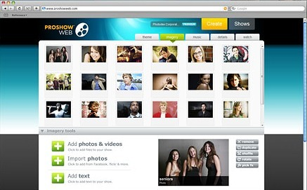 ProShow Web - instant online video shows | Digital Presentations in Education | Scoop.it