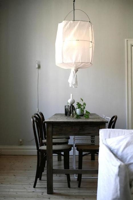 DIY | Une suspension légère et poétique pour l'été… | décoration & déco | Scoop.it