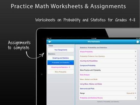 teachwithyouripad - Math Apps | Mathematical tools and tutorials | Scoop.it