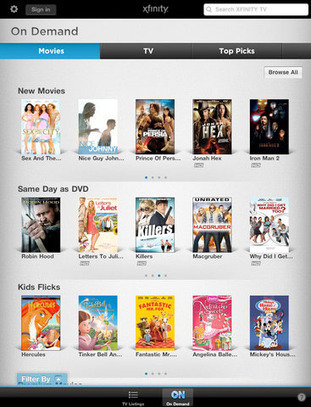 Comcast releases AnyPlay iPad app for in-home live TV streaming, Xoom support ... - Engadget | Apple Rocks! | Scoop.it